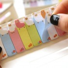 Alpaca Post It Notes - Colourful